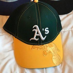 Oakland athletics hat